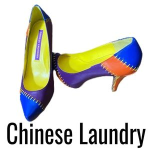 Chinese Laundry Women's Multicolored Shoes Size 8M